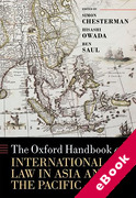 Cover of The Oxford Handbook of International Law in Asia and the Pacific (eBook)