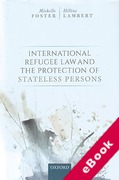 Cover of International Refugee Law and the Protection of Stateless Persons (eBook)