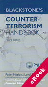 Cover of Blackstone's Counter-Terrorism Handbook (eBook)