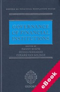 Cover of Governance of Financial Institutions (eBook)