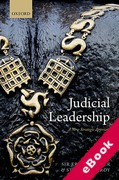 Cover of Judicial Leadership: A New Strategic Approach (eBook)