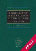 Cover of Principles of International Financial Law (eBook)