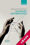 Cover of Negotiating Internet Governance (eBook)
