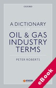 Cover of A Dictionary of Oil and Gas Industry Terms (eBook)