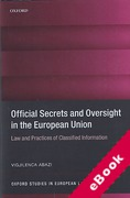 Cover of Official Secrets and Oversight in the EU: Law and Practice of Classifies Information (eBook)