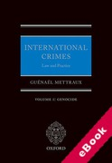 Cover of International Crimes - Law and Practice: Volume I Genocide (eBook)