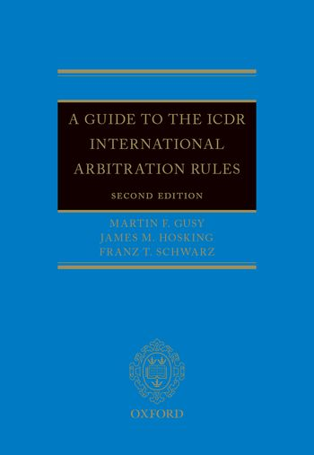 Wildy sons ltd the worlds legal bookshop search results for a guide to the icdr international arbitration rules 2nd ed fandeluxe Images