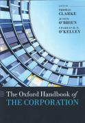 Cover of The Oxford Handbook of the Corporation