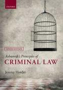 Cover of Ashworth's Principles of Criminal Law