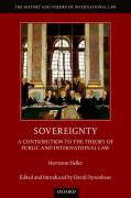 Cover of Sovereignty: A Contribution to the Theory of Public and International Law