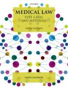 Cover of Medical Law: Text, Cases and Materials
