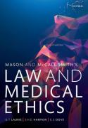 Cover of Mason & McCall Smith's Law and Medical Ethics