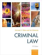 Cover of Criminal Law