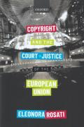 Cover of Copyright and the Court of Justice of the European Union
