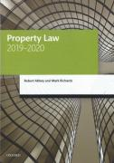 Cover of LPC: Property Law 2019-2020