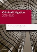 Cover of LPC: Criminal Litigation 2019-2020