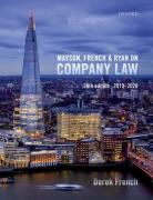 Cover of Mayson, French & Ryan on Company Law 2019-2020
