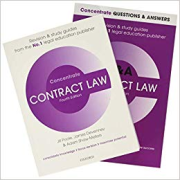 Cover of Contract Law Revision Pack: Q&A and Concentrate