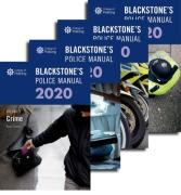 Cover of Blackstone's Police Manuals 2020: Four Volume Pack