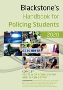 Cover of Blackstone's Handbook for Policing Students 2020