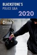 Cover of Blackstone's Police Q&A 2020: Crime