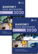 Cover of Blackstone's Police Investigators' Manual and Workbook 2020