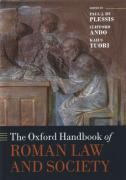 Cover of The Oxford Handbook of Roman Law and Society