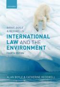 Cover of Birnie, Boyle, and Redgwell's International Law and the Environment