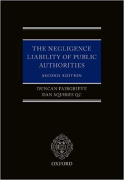 Cover of The Negligence Liability of Public Authorities