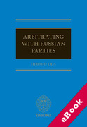 Cover of Russian Arbitration: Law and Practice (eBook)
