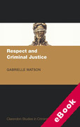 Cover of Respect and Criminal Justice (eBook)
