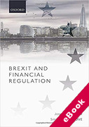 Cover of Brexit and Financial Regulation (eBook)