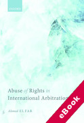 Cover of Abuse of Rights in International Arbitration (eBook)