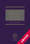 Cover of The Law of Proprietary Estoppel (eBook)