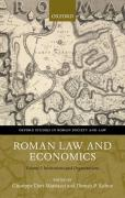 Cover of Roman Law and Economics Volume I: Institutions and Organizations