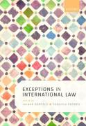 Cover of Exceptions and Defences in International Law