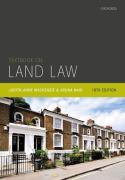 Cover of Textbook on Land Law