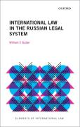 Cover of International Law in the Russian Legal System