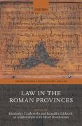 Cover of Law in the Roman Provinces