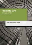 Cover of LPC: Property Law 2020-2021