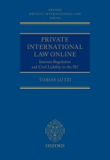 Cover of Private International Law Online: Internet Regulation and Civil Liability in the EU
