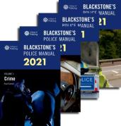 Cover of Blackstone's Police Manuals 2021: Four Volume Pack