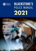 Cover of Blackstone's Police Manual 2021 Volume 2: Evidence and Procedure
