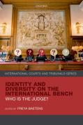 Cover of Identity and Diversity on the International Bench: Who is the Judge?