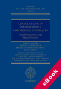 Cover of Choice of Law in International Commercial Contracts (eBook)