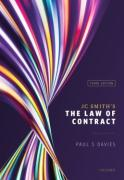 Cover of JC Smith's The Law of Contract