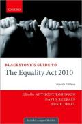 Cover of Blackstone's Guide to The Equality Act 2010