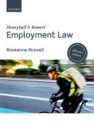 Cover of Honeyball & Bowers' Employment Law