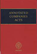 Cover of Annotated Companies Acts Looseleaf