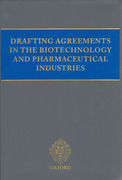 Cover of Drafting Agreements in the Biotechnology and Pharmaceutical Industries Looseleaf